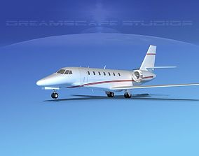 Cessna C680 Citation Soveriegn V10 3D