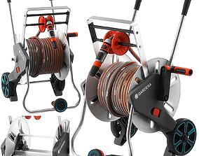 3D model AquaRoll Easy Metal Set by Gardena