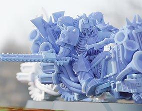 3D print model The Harvesters - Grim Hounds - Chaos Biker