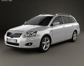 Toyota Avensis wagon 2006 t250 3D