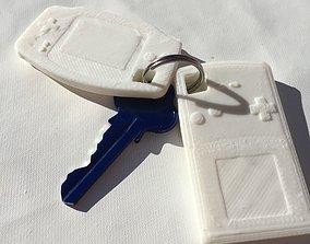 3D print model Gameboy Keyrings