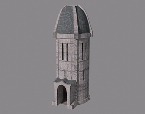 3D model Gondorian Tower