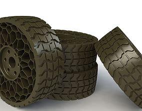 3D printable model Airless tyre V2