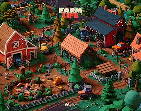 Farm Life - UE4 Unity3D FBX Stylized LowPoly animated 1