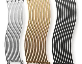 3D model LOLA Vertical decorative radiator by Cordivari