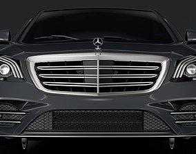 Mercedes Benz S 350 Lang AMG Line V222 2018 3D model