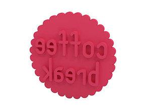 Cookie stamp Stamp 3D printable model