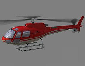 3D model As 350 V1 Helicopter
