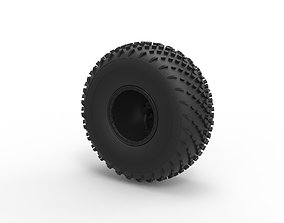 Diecast Offroad wheel 40 Scale 1 to 20 3D print model