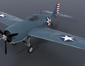 3D GRUMMAN F4F-3 WILDCAT F26