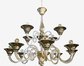 chandelier Sylcom Dolfin 1382 8 4 3D model