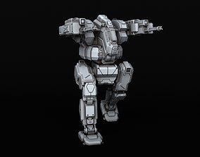 BATTLETECH BlackJack BJ-1 3D print model robot