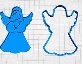 cookie cutter angel 3D print model