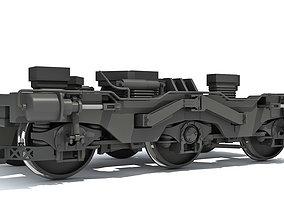3D model trains Train Wheels