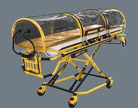3D asset Corona Emergency Stretcher
