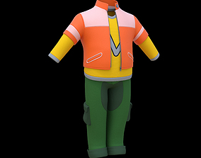 Cartoon Cloth Pack 02 3D model