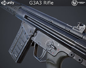 3D asset G3A3 Rifle