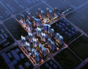 Residential building 060 3D model