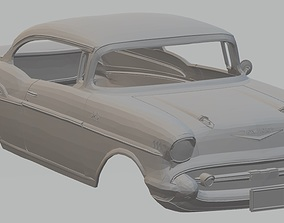 210 Sport Coupe 1957 Printable Body Car