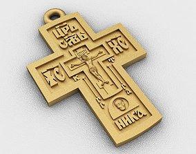 pendants 3D print model Cross