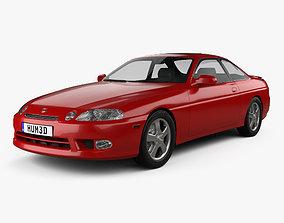 3D model Lexus SC Z30 1998
