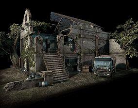 3D model Street Battle 03