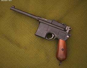 3D Mauser C96