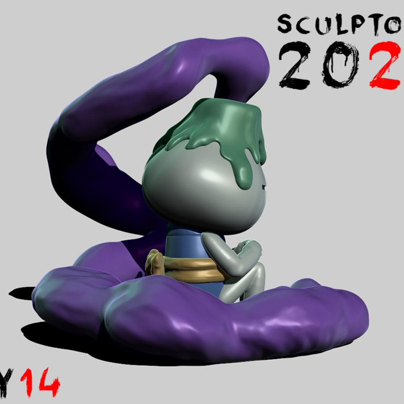 Sculptober Day 14 Sunk