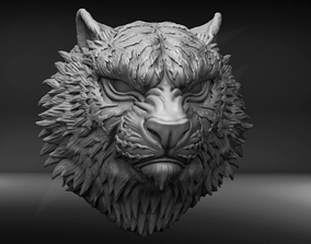 The Bengal Tiger Bust STL for 3D printable model