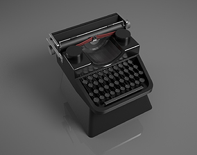 3D printable model Typewritter Cherry MX custom