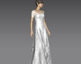 Dress Bridal 3D