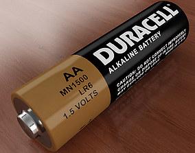 AA Battery 3D