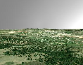 3D model PBR City of Sturgis South Dakota
