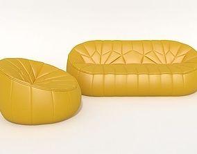 3D Sofa Ottoman Ligne Roset