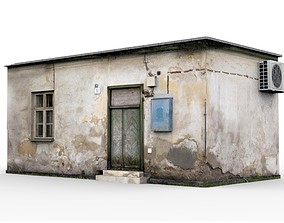 3D asset Old Slum House