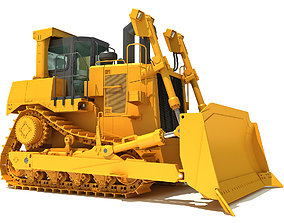 digger Bulldozer 3D model