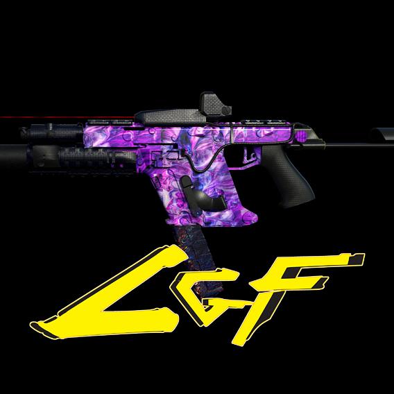 SMG gun