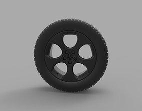 Volkswagen Golf GTI MkVI 3D print model