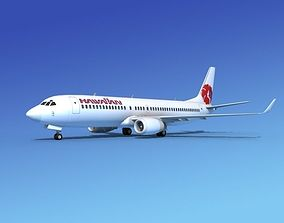 3D model Boeing 737-800 Hawaiian Airlines