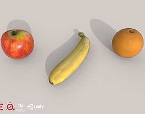 Game Ready Fruit D180302 3D asset