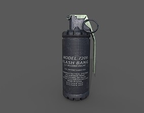 3D asset grenades model 7290