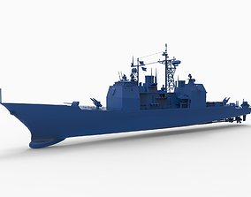 3D printable model USS Valley Forge CG-50