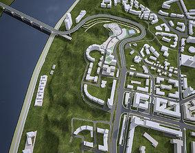 3D model Urban Area 06