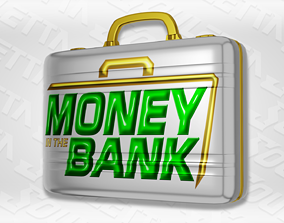 3D asset WWE Womens Money In The Bank Briefcase
