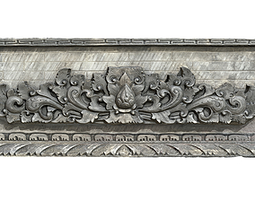Balinese Wall Barelief Decorative Ornament 3D