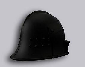 3D printable model Fireman Helmet