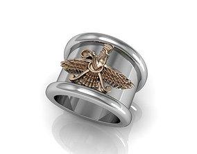 3D print model Persian - perpetual worshiper ring