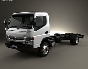 maxity Nissan Atlas Chassis Truck 2012 3D model