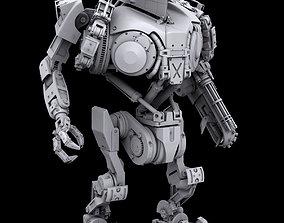 Robocop2 movie Cain action figure 3d printable model