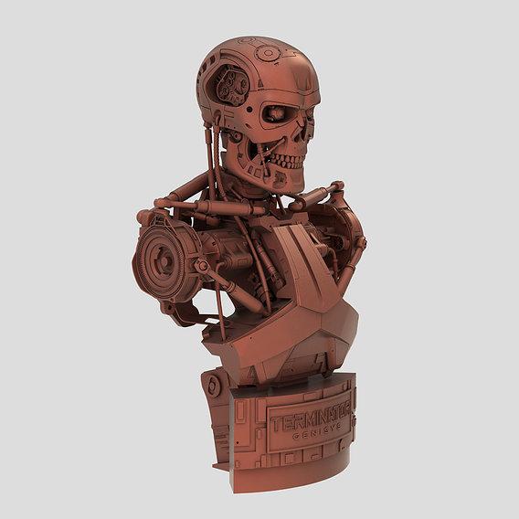 Terminator Genisys T-800 Bust